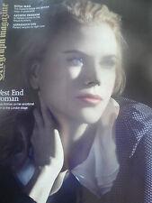 Telegraph magazine NICOLE KIDMAN , QUEEN ELIZABETH