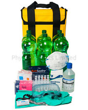 Large Acid Attack Response Kit | Inc Water, Burn Dressings, Gauntlets etc...