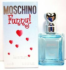MOSCHINO FUNNY MINI EDT SPLASH FOR WOMEN 0.13 Oz / 4 ml BRAND NEW ITEM IN BOX
