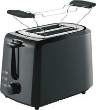Grundig TA 4620 Schwarz Toaster 850 Watt Leistung Aufwärmfunktion