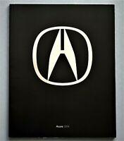 "ORIGINAL 2014 ACURA FULL LINE PRESTIGE SALES BROCHURE ~ 80 PAGES ~ 11"" X 8.75"""