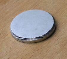 leica fit LTM 39mm brass rear lens cap ,shallow 4.5mm high
