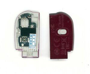 Akkudeckel, Battery cover, Akku Accu Cover, Deckel für NIKON L24 Rot