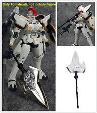 Metal Weapon Tomahawk AX Silver color for Bandai TV 1/100 MG Tallgeese Gundam