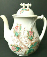 "Antique Royal Crownford Ironstone Wheat ""Charlotte"" Teapot British Anchor 8 cup"