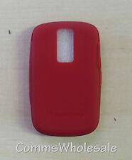 Original Blackberry Bold 9000 acc-17001-204 Rojo Piel Nueva