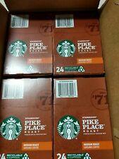 Starbucks Pike Place Medium Roast 96 Pieces Coffee K-Cups (Choc. & Toasted nut.)