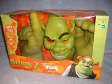 Shrek 2 Be an Ogre Kit Hands Mask Electronic Talking Works Hasbro 2004 Open Used
