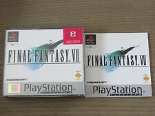 JEU PLAYSTATION PS1  FINAL FANTASY VII   COMPLET