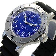 VOSTOK AMPHIBIAN Russian diving watches automatic mechanical Rubber Strap 120812