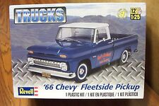 REVELL '66 CHEVY FLEETSIDE PICKUP TRUCK MODEL KIT 1/25 SCALE