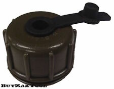 US Army Military NBC CBRN Olive Drab Canteen Cap For Gas Mask Drinking Tubes