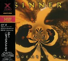 SINNER Judgement Day +2 RARE JAPAN CD OBI XRCN-1286 Primal Fear Heat