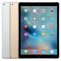 Apple iPad Pro 12.9 (1st Gen) - 128GB 256GB - Wi-Fi + 4G - Various Colours