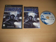 SWAT 4  THE STETCHKOV SYNDICATE Add-On Expansion Pack Pc Cd Rom  FAST POST