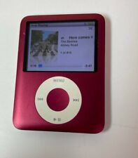 Apple iPod nano 3rd Generation Red (8 GB) TESTED & WORKS