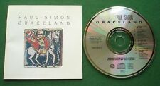 Paul Simon Graceland inc Diamonds On The Soles Of Her Shoes / Homeless + CD