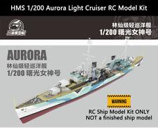 HMS 1/200 Aurora Light Cruiser RC Model Kit with Detail Upgrade Kit