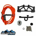 DSM Off-Road 1/10 RC Integrated Kinetic Winch for Axial SCX10/II/III (Orange)