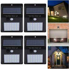 4X Solarleuchte mit Bewegungsmelder 48LED Solarstrahler Außenleuchte Gartenlampe
