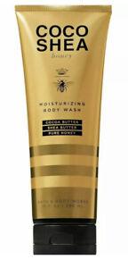 Bath & Body Works COCO SHEA Honey Moisturizing Body Wash Pure Honey 10oz New