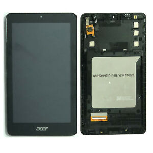 Acer Iconia One 7 B1-760HD LCD Display Touch Screen Digitizer Assembly Black