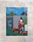 Romare Bearden, Pepper Jelly Lady, Lithograph on Arches Paper