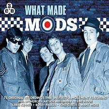 What Made Mods - 75 Original Recordings That Inspired A Movement 3CD NEW/SEALED