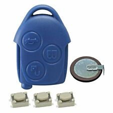 For Ford Transit MK7 Blue Key Fob Case Remote Battery VL2330 Switches Repair Kit