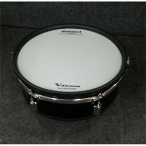 """Roland PDA120L-BK V-Drums Acoustic Design 3 Series Tom Pad 12"""" Black"""