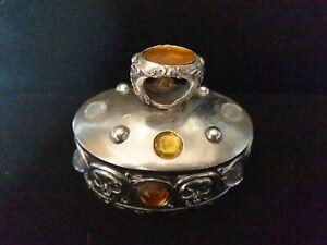 Nemesis Now Style Trinket Jewellery ring Box Coffin Skull Gothic Alchemy