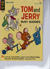 Tom and Jerry #218 Comics August 1963 + Little Quacker & Mouse Musketeers