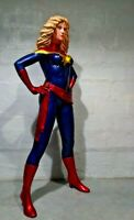 Ms Captain Marvel  life size custom statue Finet XM
