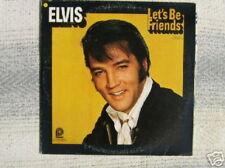 ELVIS PRESLEY 33 TOURS CANADA LET'S BE FRIENDS