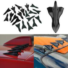 Shark Fin Generator Spoiler Wing Roof Diffuser Bumper For Universal Car