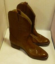 RODEO DRIVE WESTERN COWBOY RODEO DANCE LEATHER BOOTS SIZE 11 D