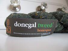 Tahki Donegal Tweed Homespun 100g color greens number 879