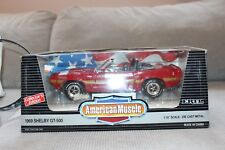 Ertl American Muscle 1:18 1969 Shelby Convertible GT-500 Die Cast Metal Car
