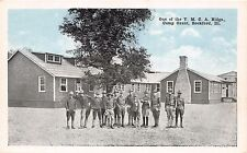 ROCKFORD IL~CAMP GRANT~WW1 SOLDIERS~ONE OF THE Y.M.C.A. BUILDINGS~POEM POSTCARD
