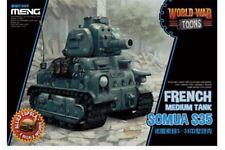 Meng WWT-009 Egg World War Toons Somua S35 French Medium Tank