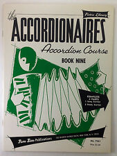 The Accordionaires - Vintage Accordion Course - Book 9 Complete w/Study Insert
