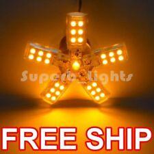 ~2 1156 AMBER 41-SMD TURN SPIDERLITE LED CAR LIGHT BULB