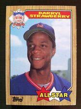 1987 Topps DARRYL STRAWBERRY #601 New York Mets