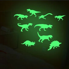 9 Pcs Glow In The Dark Dinosaurs Kid Toys for Child Stickers Ceiling Decal Hot