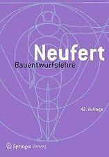 Bauentwurfslehre von Ernst Neufert (Gebundene Ausgabe)