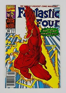 Fantastic Four #353 Newsstand First Mobius M. Appearance 1st App FF No Reserve!!