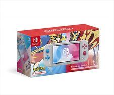 Nintendo Switch Lite console Pokemon Sword Shield Zacian Zamazenta Japan NEW