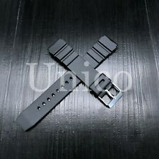 18 20 22 MM Black Silicone Rubber Watch Band Strap Fits Casio Diver G Shock