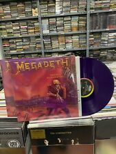 MEGADETH LP PEACE SELLS  BUT WHO'S BUYING 2018  PURPLE VINYL SEALED