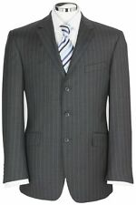 Three Button Pinstripe Single Breasted Suits for Men